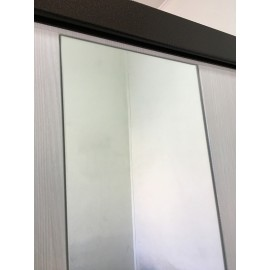 Входная дверь Ратибор Милан с зеркалом (Лиственница беж)
