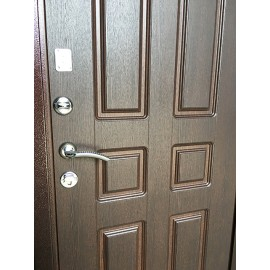 Входная дверь Ратибор Комфорт (Медный антик / Орех премиум)