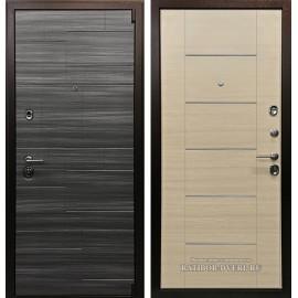 Входная дверь Ратибор Омега 3К (Сандал серый / Акация)