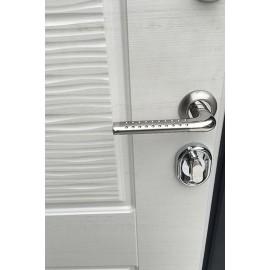 Входная металлическая дверь Ратибор Эверест (Манзония белая)
