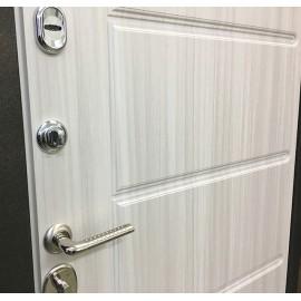 Входная металлическая дверь Ратибор Техно (Сандал белый)