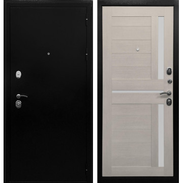 Входная металлическая дверь Ратибор Авангард 3К (Лиственница беж)
