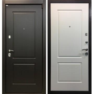 Входная металлическая дверь Ратибор Барьер (Венге / Ясень белый)