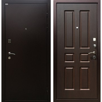 Входная металлическая дверь Ратибор Комфорт (Медный антик / Орех премиум)