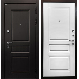 Входная дверь Ратибор Лондон 3К (Венге / Белый матовый)
