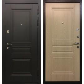 Входная металлическая дверь Ратибор Лондон (Дуб белёный)