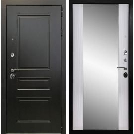 Входная дверь Ратибор Монолит 3К Зеркало (Венге / Сандал белый)