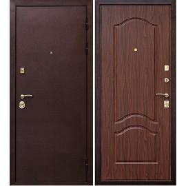 Входная металлическая дверь Ратибор Оксфорд (Орех тисненный)