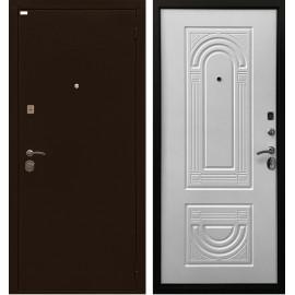 Входная дверь Ратибор Оптима 3К (Белый матовый)
