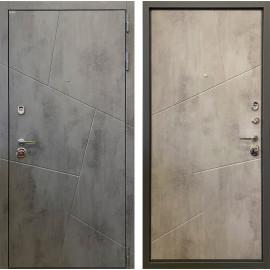 Входная дверь Ратибор Орион 3К (Бетон тёмный / Бетон светлый)