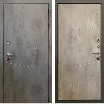 Входная металлическая дверь Ратибор Орион 3К (Бетон тёмный / Бетон светлый)