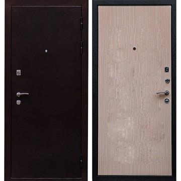 Входная металлическая дверь Ратибор Практик (Медный антик / Венге светлый)