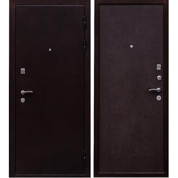Входная металлическая дверь Ратибор Практик (Медный антик / Венге)