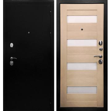 Входная металлическая дверь Ратибор Резидент 3К (Антик темное Серебро / ЭкоДуб)