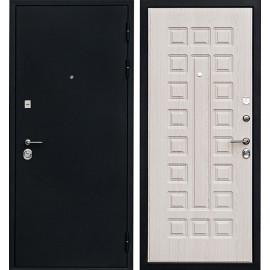Входная дверь Ратибор Рим 3К (Черный шелк / Дуб беленый)