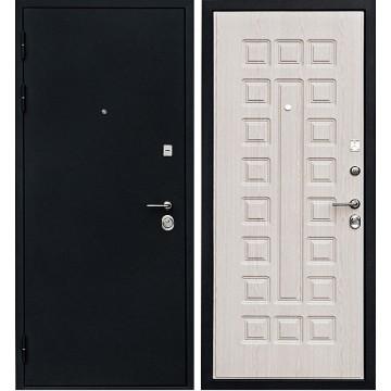 Входная металлическая дверь Ратибор Рим 3К (Дуб беленый)