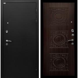 Входная металлическая дверь Ратибор Спарта (Чёрный шелк / Венге)