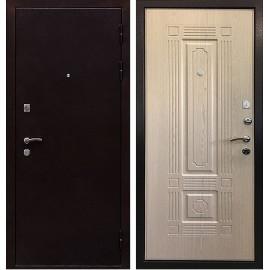 Входная металлическая дверь Ратибор Стандарт (Выбеленный дуб)