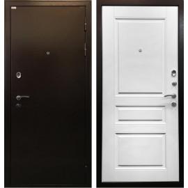 Входная дверь Ратибор Статус (Медный антик / Ясень белый)