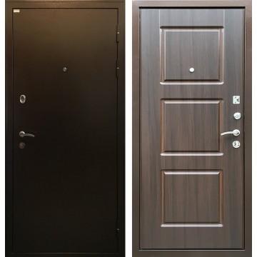 Входная металлическая дверь Ратибор Трио (Медный антик / ЭкоВенге)
