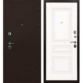 Входная дверь Ратибор Троя 3К (Медный антик / Белый матовый)
