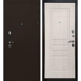 Входная дверь Ратибор Троя 3К (Медный антик / Лиственница беж)
