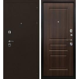 Входная дверь Ратибор Троя 3К (Медный антик / Орех бренди)