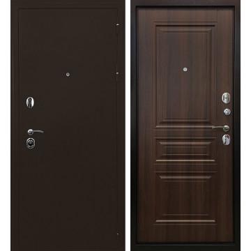 Входная металлическая дверь Ратибор Троя 3К (Медный антик / Орех бренди)