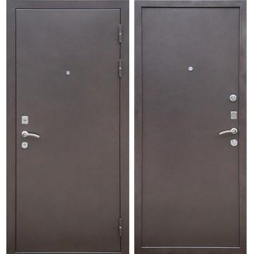 Входная металлическая дверь Ратибор Зима (Антик Капучино)
