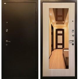 Входная дверь Ратибор Милан с Зеркалом (Медный антик / ЭкоДуб)