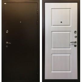 Входная дверь Ратибор Трио (Медный антик / Лиственница беж)