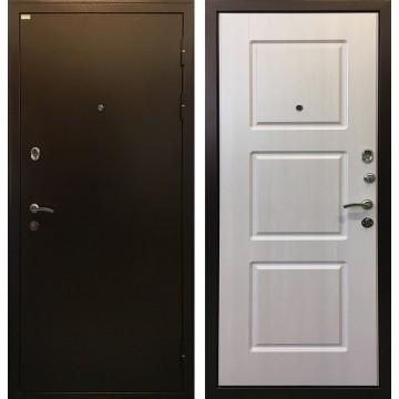 Входная металлическая дверь Ратибор Трио (Лиственница беж)
