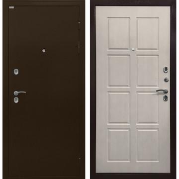 Входная металлическая дверь с терморазрывом Ратибор Термоблок 3К (Лиственница беж)