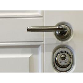 Входная металлическая дверь Ратибор Сноу 3К (Белый матовый / Белый матовый)