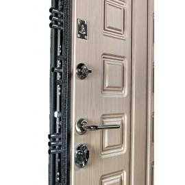Входная металлическая дверь Ратибор Зодиак (Беленый дуб)