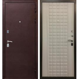 Входная дверь Ратибор Квадро 3К (Сандал белый)