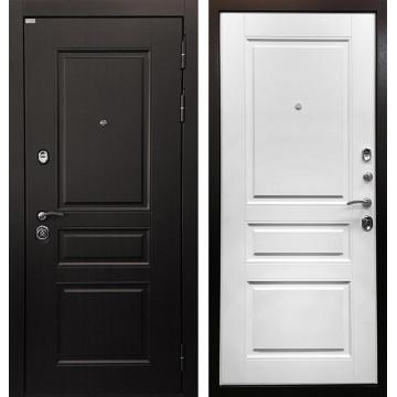 Входная металлическая дверь Ратибор Лондон 3К (Венге / Белый матовый)
