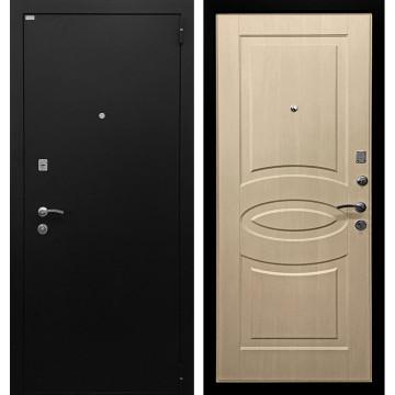 Входная металлическая дверь Ратибор Классик 3К (Черное Серебро / Экодуб)