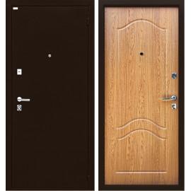 Входная дверь Ратибор Форт Люкс (Дуб светлый)