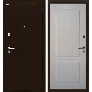 Входная металлическая дверь Ратибор Форт Люкс (Медный антик / Капучино)