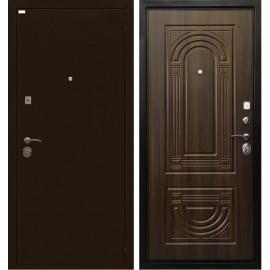 Входная дверь Ратибор Оптима 3К (Орех бренди)